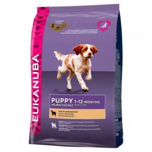Eukanuba Dog Puppy & Junior Lamb & Rice 12kg