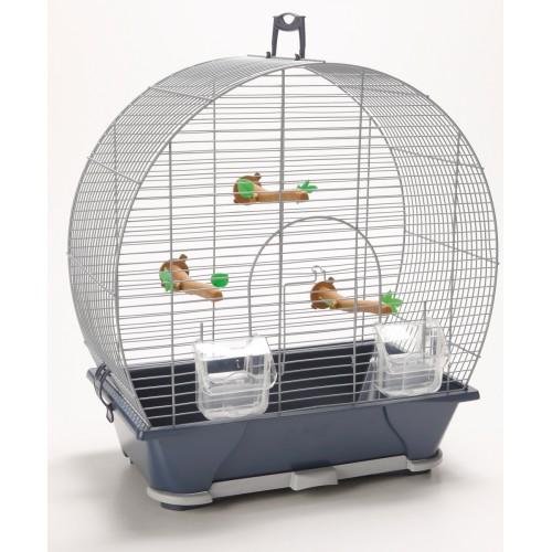 Evelyne 30 Bird Cage Silver 43x28x47cm