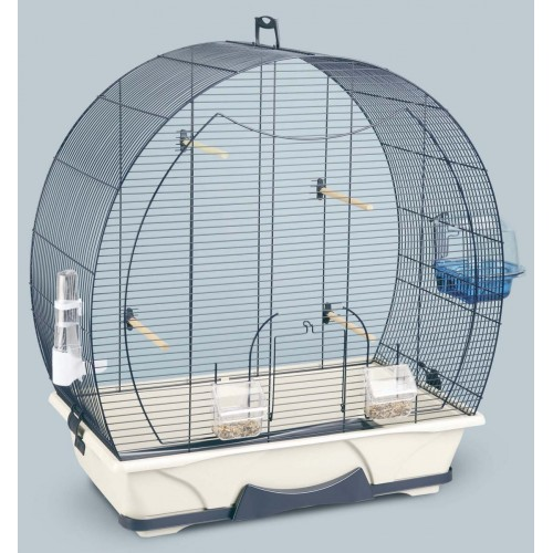 Evelyne 50 Bird Cage Navy Blue 70x38x73cm