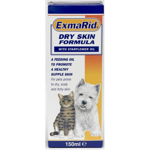 Exmarid Dog & Cat Dry Skin Formula Starflower Oil 150ml