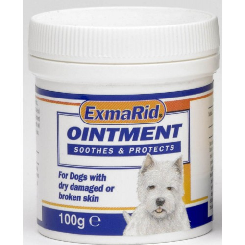 Exmarid Dog Soothing Skin Ointment 100g