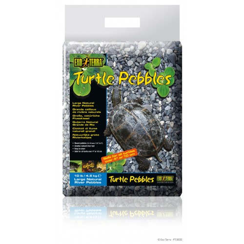 Exo Terra Turtle Pebbles 8-10mm 4.5kg
