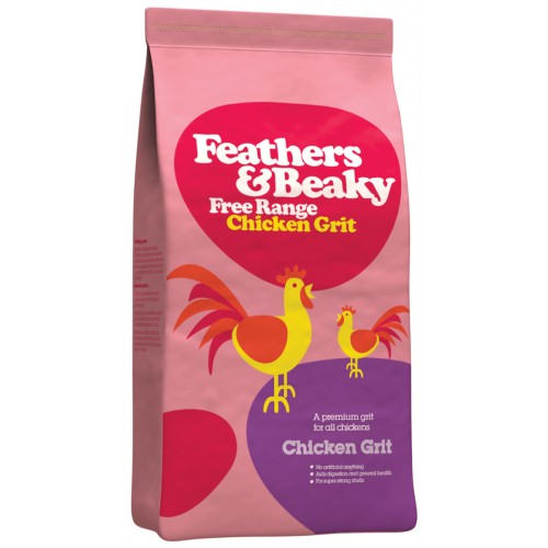 Feathers & Beaky Free Range Chicken Grit 5kg