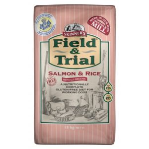 Field & Trial Salmon & Rice Hypoallergenic 15kg
