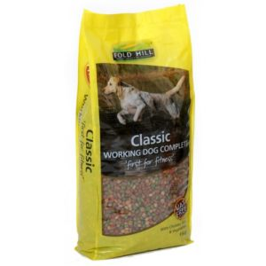 Fold Hill Classic Working Dog Chicken/rice & Veg 15kg