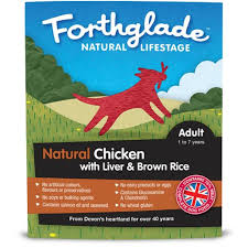 Forthglade Natural Lifestage Adult Chicken With Liver & Brown Rice 395g x18