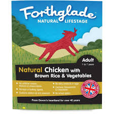 Forthglade Natural Lifestage Adult Chicken With Veg 395g x 18