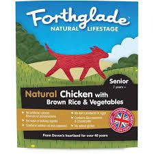 Forthglade Natural Lifestage Senior Chicken With Veg 395g x18