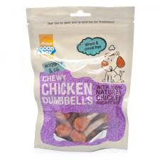 Good Boy Waggles & Co Chewy Chicken Dumbbells 100g x8