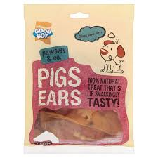 Good Boy Waggles & Co Pigs Ears 4 Pack 60g x8