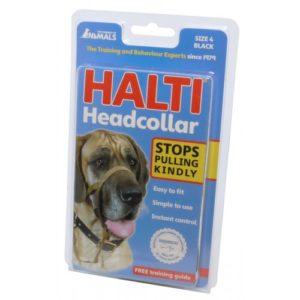 Halti Headcollar Black Size 4
