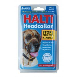 Halti Headcollar Black Size 5