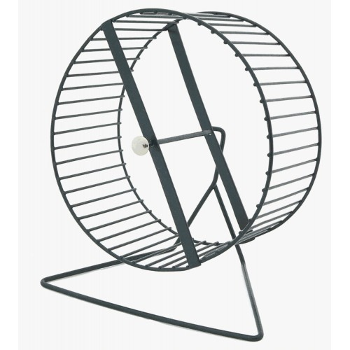 Hamster Play Wheel And Stand Metal
