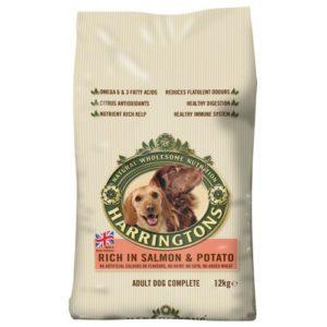 Harringtons Complete Dog Salmon & Potato 2kg