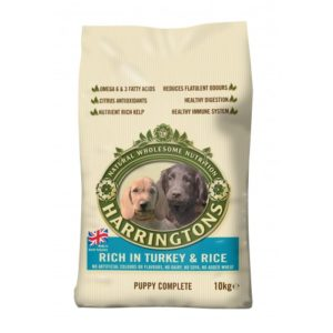 Harringtons Complete Puppy Turkey & Rice 10kg