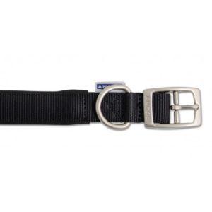 Heritage Nylon Padded Collar Black 55cm/22″ Sz 6