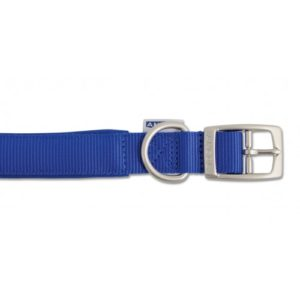 Heritage Nylon Padded Collar Blue 55cm/22″ Sz 6