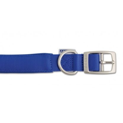 Heritage Nylon Padded Collar Blue 60cm/24″ Sz 7