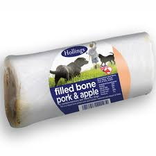 Hollings Filled Bone Pork & Apple Display x20