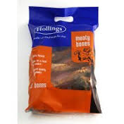 Hollings Meaty Bones Carrier Bag 5pk x5