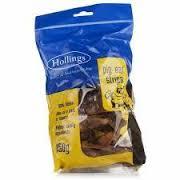 Hollings Pig Ear Strips Display 150g x8