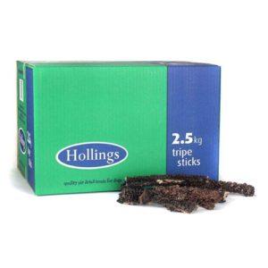 Hollings Sticks Tripe Bulk 2.5kg
