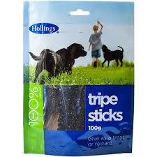 Hollings Sticks Tripe Carrier Bag 500g x5