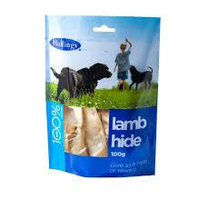 Hollings lamb hide 100g x 8