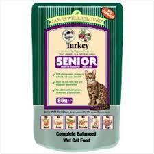 James wellbeloved Cat Senior Pouch Turkey 85g
