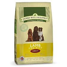 James wellbeloved Dog Adult Lamb & Rice Kibble 2kg