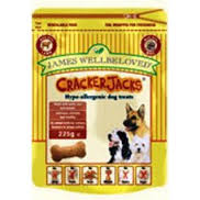 James wellbeloved Dog Crackerjacks Lamb & Veg 225g X6