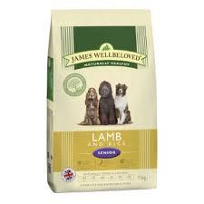 James wellbeloved Dog Senior Lamb & Rice Kibble 15kg