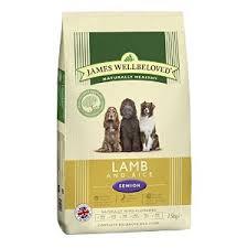 James wellbeloved Dog Senior Lamb & Rice Kibble 7.5kg