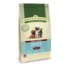 James wellbeloved Dog Small Breed Adult Duck & Rice Kibble 1.5kg