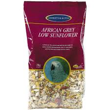 J&j African Grey Low Sunflower 12.75kg