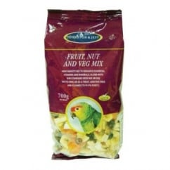 J&j Cage Bird Fruit Nut And Veg Mix 700g