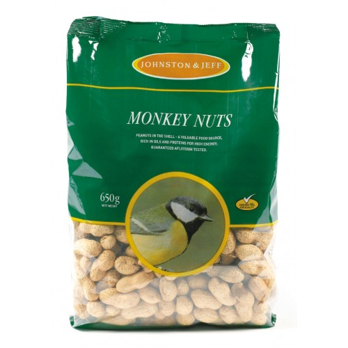 J&j Monkey Nuts 650g