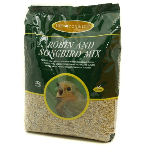 J&j Robin Mix With Insects 2kg