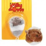 Jolly Moggy Vibro Mouse Assorted x3