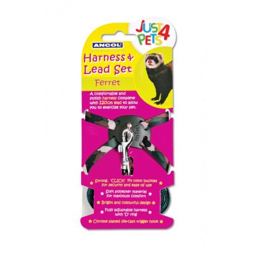 Just 4 Pets Ferret Harness & Lead Set