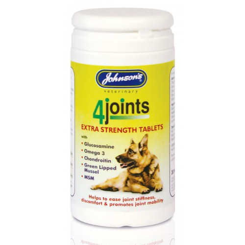 Jvp Dog & Cat 4joints Supplement 30 Tablets
