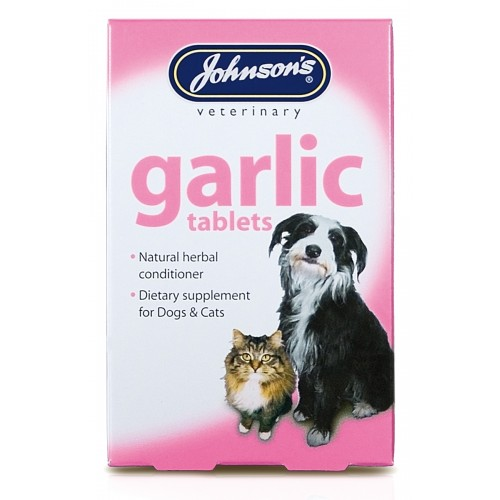 Jvp Dog & Cat Garlic 40 Tablets