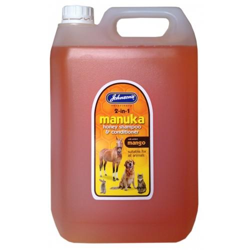 Jvp Dog & Cat Manuka Honey Shampoo & Conditioner 5ltr