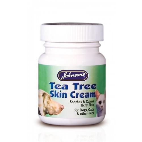 Jvp Dog & Cat Tea Tree Antiseptic Skin Cream 50g