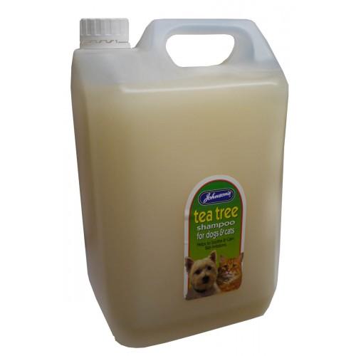 Jvp Dog & Cat Tea Tree Shampoo 5 Ltr