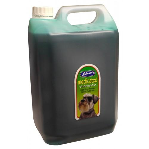 Jvp Dog Medicated Shampoo 5ltr
