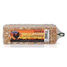 Jvp Poultry Corn & Grit Bar 270g x10