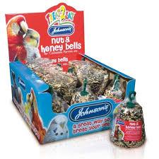 Jvp Treat2eat Cockatiel/parrot Nut & Honey Bell 50g