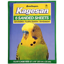Kagesan Sanded Sheets No4 32x25cm 6 Sheets