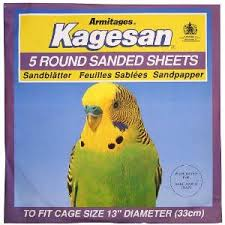 Kagesan Sanded Sheets Round 33cm 5 Sheets